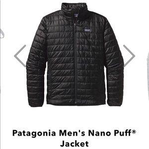 Patagonia men's nano puff jacket NWOT